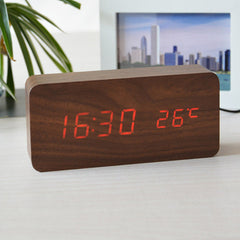 Temperature Sounds Control LED Clock - BoardwalkBuy - 7