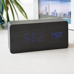 Temperature Sounds Control LED Clock - BoardwalkBuy - 3