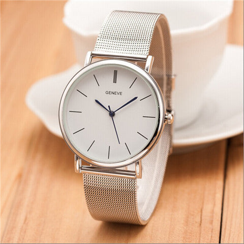 Thin and stainless steel Watches - BoardwalkBuy - 1