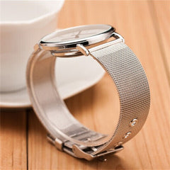 Thin and stainless steel Watches - BoardwalkBuy - 4