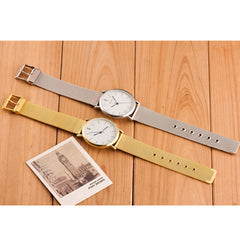 Thin and stainless steel Watches - BoardwalkBuy - 5