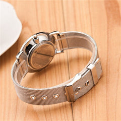 Thin and stainless steel Watches - BoardwalkBuy - 6