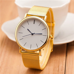 Thin and stainless steel Watches - BoardwalkBuy - 2