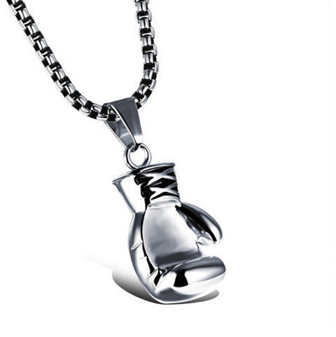 Men's Boxing Glove Necklace - BoardwalkBuy - 1