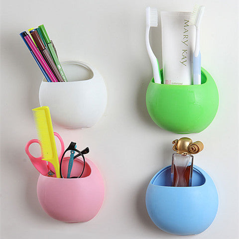 Toothbrush Sucker Holder