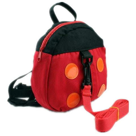 Baby Cartoon Ladybug Backpacks Walking Belt - BoardwalkBuy - 1