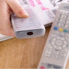 Transparent Silicone TV Remote Control Cover - BoardwalkBuy - 2