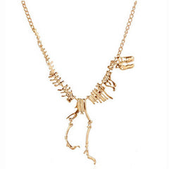 Tyrannosaurus Rex Skeleton Necklace - BoardwalkBuy - 1