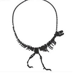 Tyrannosaurus Rex Skeleton Necklace - BoardwalkBuy - 3
