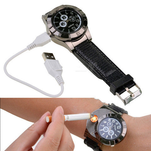 Usb Lighter Men'S Watch