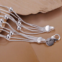 Fashion 925 Silver Fashion Jewelry Bracelet - BoardwalkBuy - 4