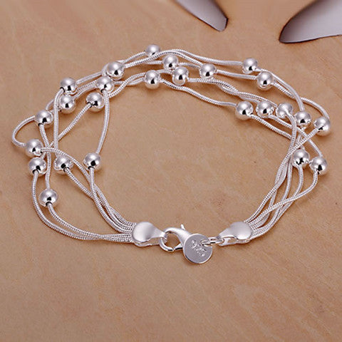 Fashion 925 Silver Fashion Jewelry Bracelet - BoardwalkBuy - 1