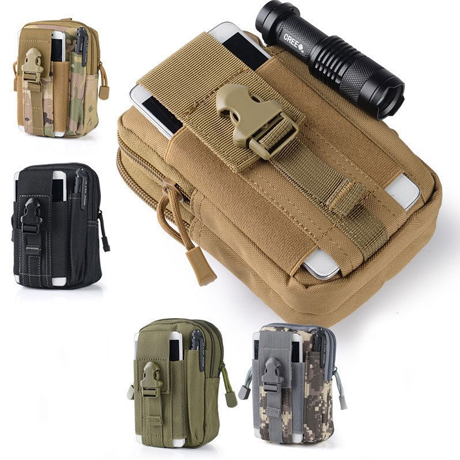 Outdoor Tactical Waterproof Hiking Pouch - Assorted Colors