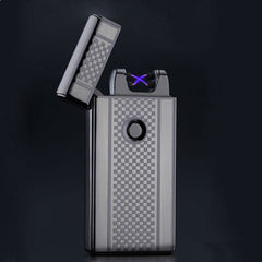 Electronic Usb Charging Ultra-Thin Windproof Lighters - BoardwalkBuy - 5