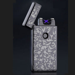 Electronic Usb Charging Ultra-Thin Windproof Lighters - BoardwalkBuy - 7
