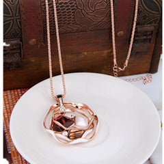 Valentine Round Diamond Sweater Chain - BoardwalkBuy - 2
