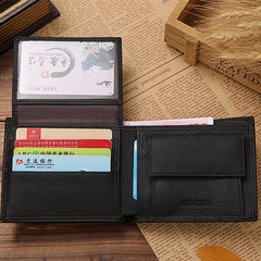 Vintage Short Casual Male Card Holder Wallets - BoardwalkBuy - 12