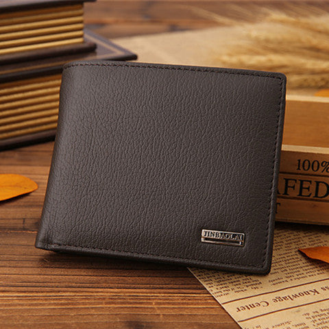 Vintage Short Casual Male Card Holder Wallets - BoardwalkBuy - 1