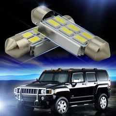 White festoon dome auto led  interior  car lamp - BoardwalkBuy - 3