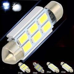 White festoon dome auto led  interior  car lamp - BoardwalkBuy - 5
