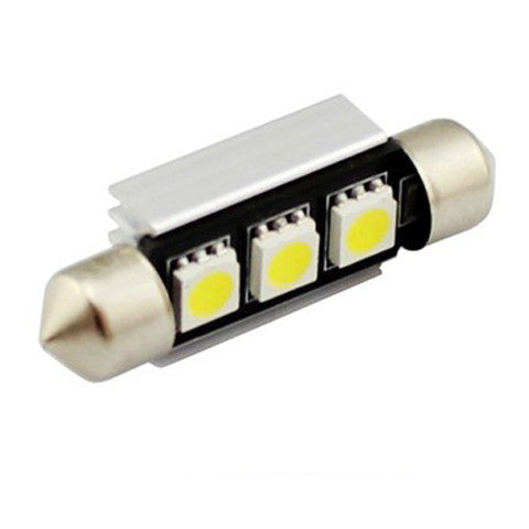 White festoon dome auto led  interior  car lamp - BoardwalkBuy - 1