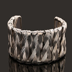 Woven Metal Wire Bracelet - BoardwalkBuy - 2