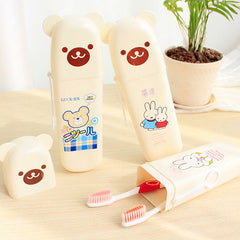 Winnie Travel Toothpaste Toothbrush Box - BoardwalkBuy - 1