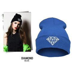 Diamond Knit Hat - BoardwalkBuy - 5