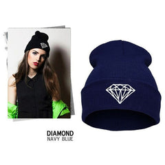 Diamond Knit Hat - BoardwalkBuy - 4