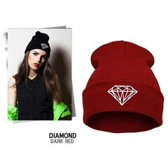 Diamond Knit Hat - BoardwalkBuy - 9