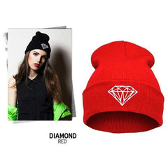Diamond Knit Hat - BoardwalkBuy - 6