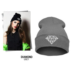 Diamond Knit Hat - BoardwalkBuy - 3