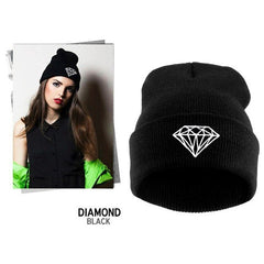 Diamond Knit Hat - BoardwalkBuy - 2