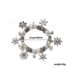 Winter Christmas Charm Bracelet - BoardwalkBuy - 2