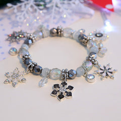 Winter Christmas Charm Bracelet - BoardwalkBuy - 3