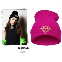Diamond Knit Hat - BoardwalkBuy - 7