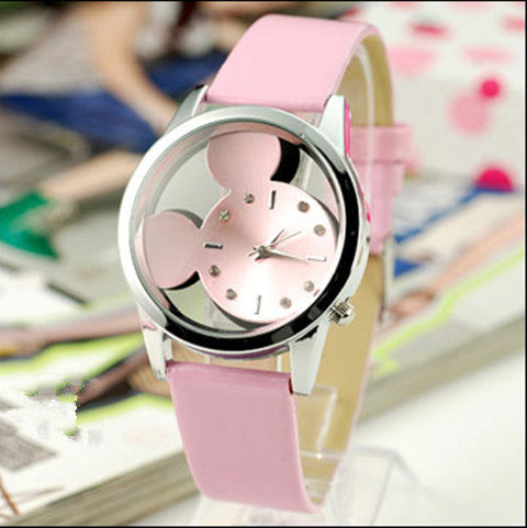 Women  Mickey transparent  Watches - BoardwalkBuy - 1