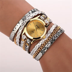 Women Woven Leopard  Bracelet Watches - BoardwalkBuy - 8