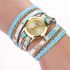 Women Woven Leopard  Bracelet Watches - BoardwalkBuy - 1