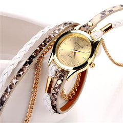 Women Woven Leopard  Bracelet Watches - BoardwalkBuy - 9