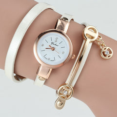 Women Wrist Quartz Leather Strap Watch - BoardwalkBuy - 3