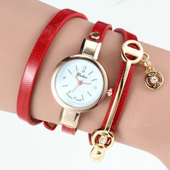 Women Wrist Quartz Leather Strap Watch - BoardwalkBuy - 6