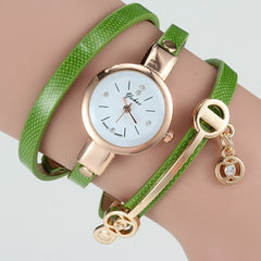 Women Wrist Quartz Leather Strap Watch - BoardwalkBuy - 4