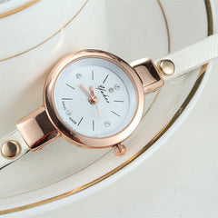 Women Wrist Quartz Leather Strap Watch - BoardwalkBuy - 7