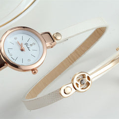 Women Wrist Quartz Leather Strap Watch - BoardwalkBuy - 9