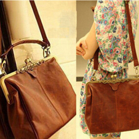Women Retro Messenger Handbags