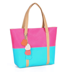 Women tassel peach pericardium Handbag - BoardwalkBuy - 3