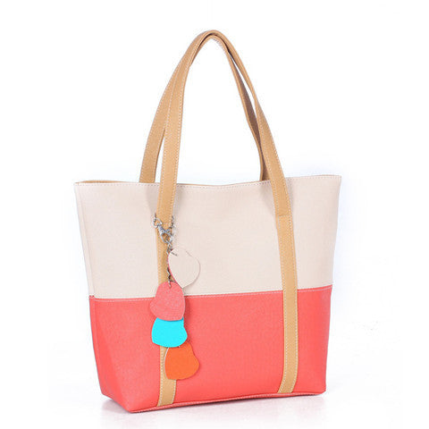 Women tassel peach pericardium Handbag - BoardwalkBuy - 1