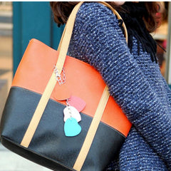 Women tassel peach pericardium Handbag - BoardwalkBuy - 9