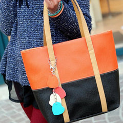 Women tassel peach pericardium Handbag - BoardwalkBuy - 10